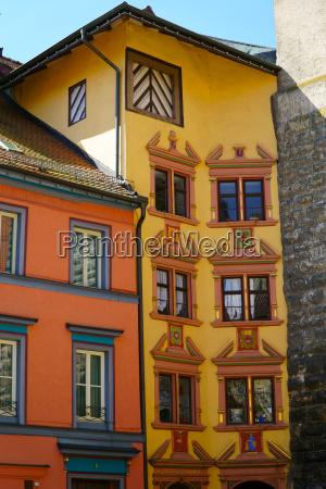 azul casa construcao historico cidade ferias