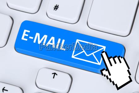 mensagem da mensagem do email emite
