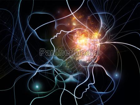 rede de pensamento virtual