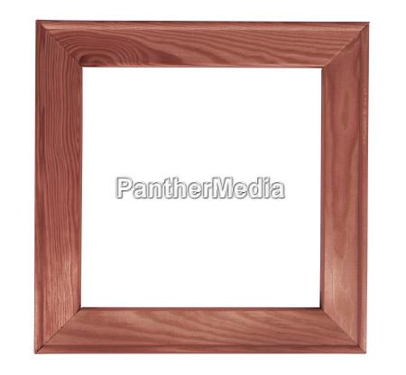frame de retrato de madeira do