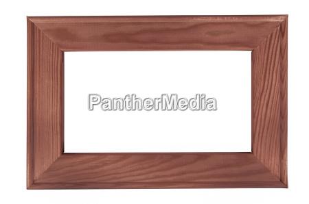 frame de retrato de madeira escuro