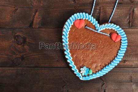 coracao bavaro sem rotulo do gingerbread