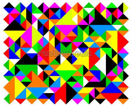 arlequim triangulos geometrico conserto colcha acolchoado