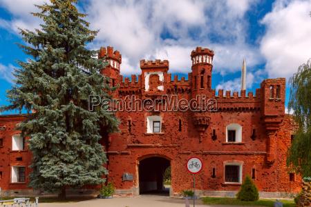 porta de kholm da fortaleza de
