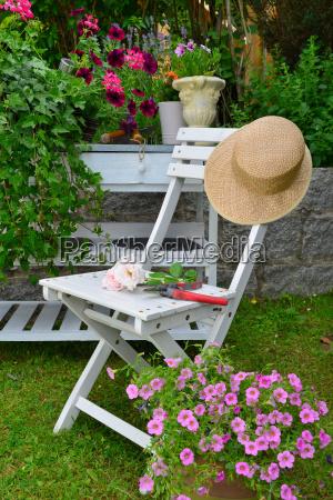 mobiliario de jardim de verao