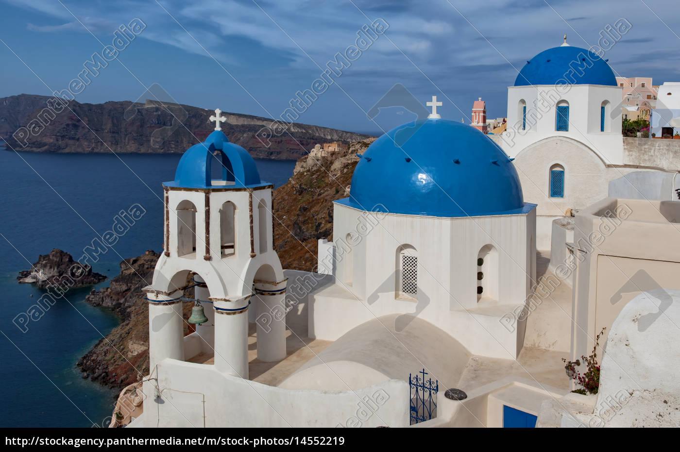 cúpulas, azuis - 14552219