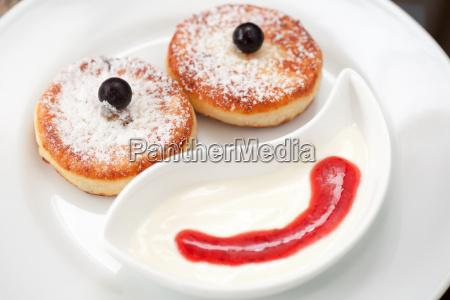 alimento doce closeup acucar bolo fruta