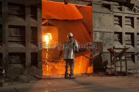 siderurgia verificar teste ensaio amostra amianto