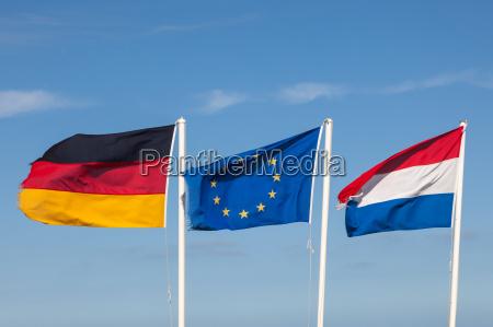 bandeiras da alemanha paises baixos e