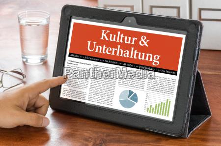 jornal tageblatt informacoes escritorio caderno computadores