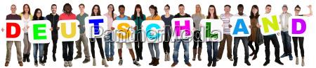 o grupo dos povos dos jovens