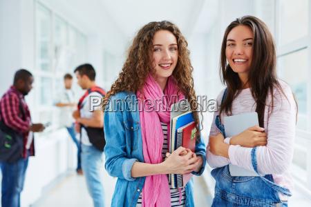 pretty students