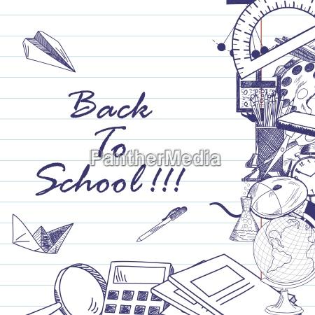 de volta a escola