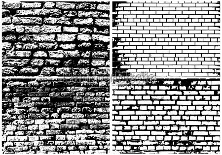 jogo abstratos grunge tijolo parede
