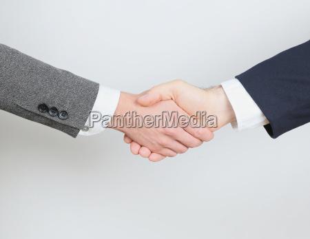 handshake de negocios