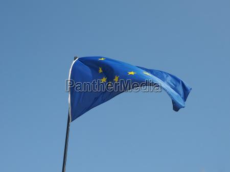 azul caucasiano europeu europa bandeira estado