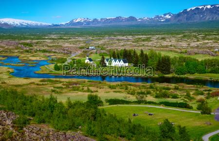 parque nacional islandia paisagem natureza