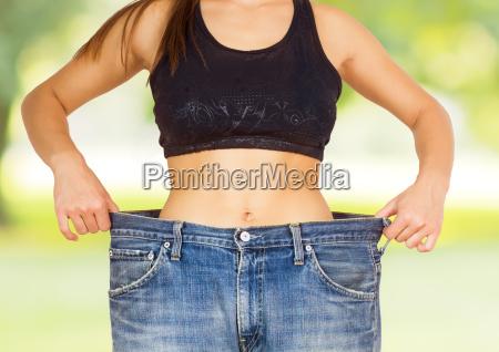 magro cintura corpo emagrecimento dieta bem