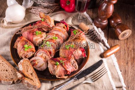 recheado lombo de porco