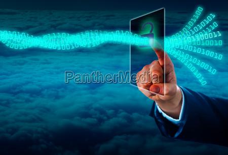 destravando um corrego de dados virtual