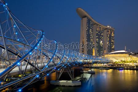 horizonte, de, singapura, cingapura, marina, bay - 15465847
