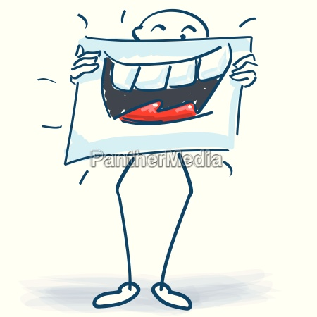 risadinha sorrisos comico poster comediante stickman