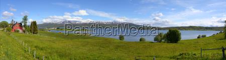 casa construcao agricultura tranqueilidade noruega fiorde