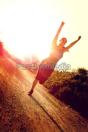 sundhed aktiv jogging aktive atlet pige