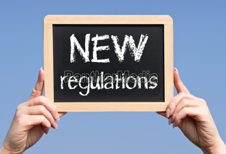 novos regulamentos