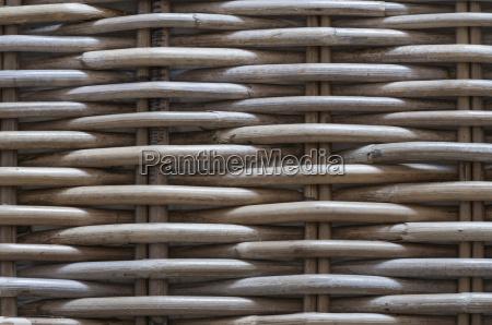 detalhe cesta produto natural trancado pano