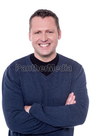 foto de estudio de un hombre
