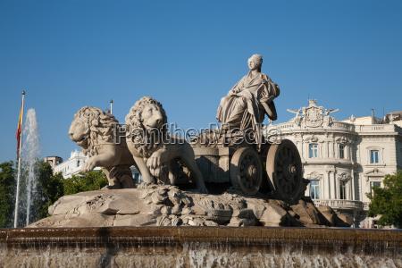 diosa cibeles escultura en madrid