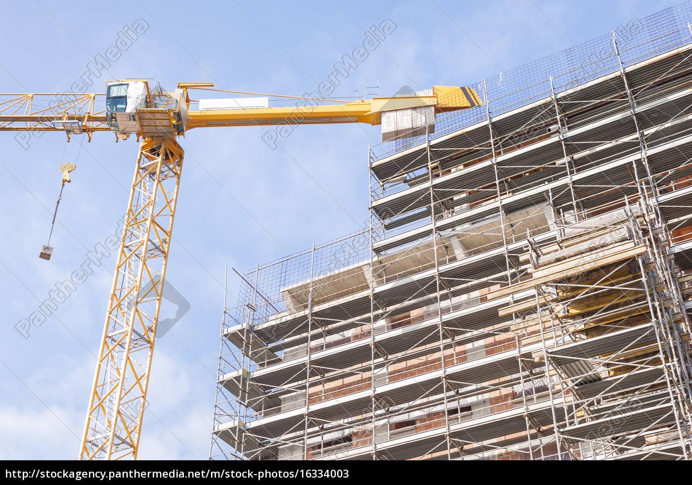 construção, em, construção, com, armadura, de - 16334003