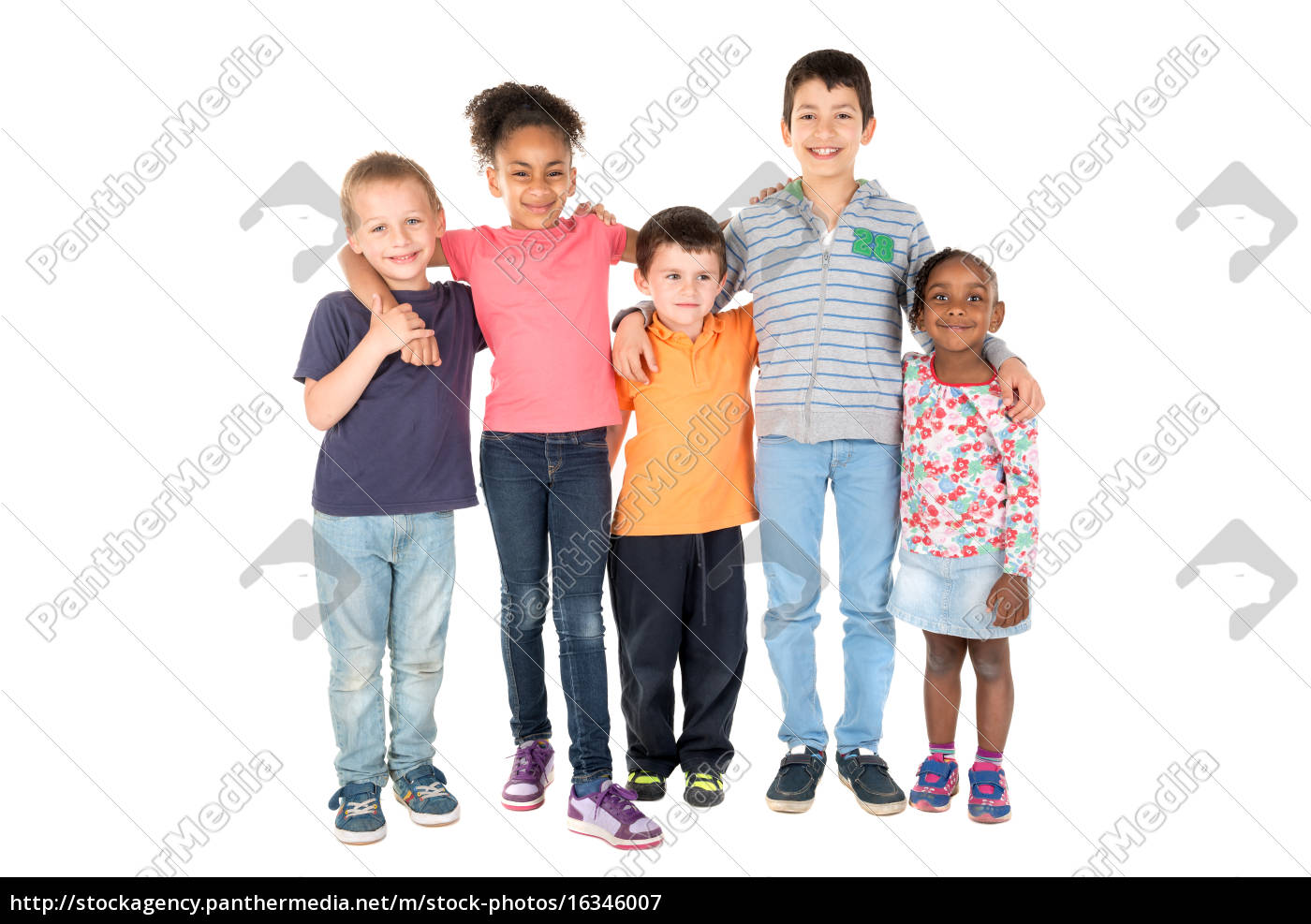 grupo, de, crianças - 16346007