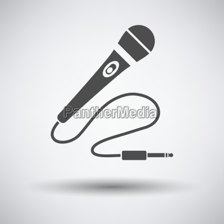 som ilustracao tecnologia microfone icone simples