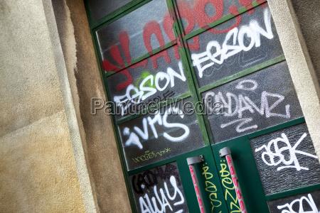 grafittis e tag