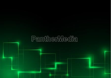 fundo abstrato futurista verde