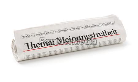 jornal tageblatt vista noticia texto liberdade