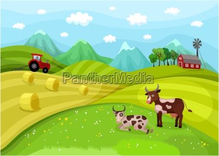 paisagem da exploracao agricola