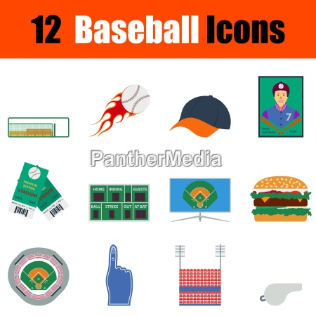 jogo do icone do basebol
