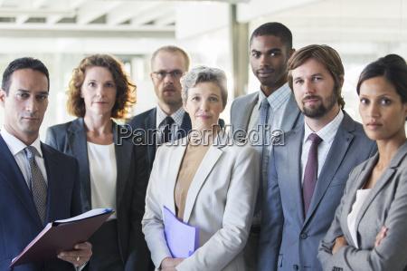 retrato grupal da equipe de escritorio
