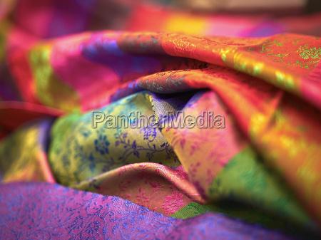 industria colorido india ao ar livre