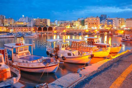 porto velho da noite de heraklion