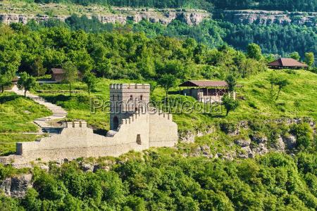 restos de uma antiga fortaleza