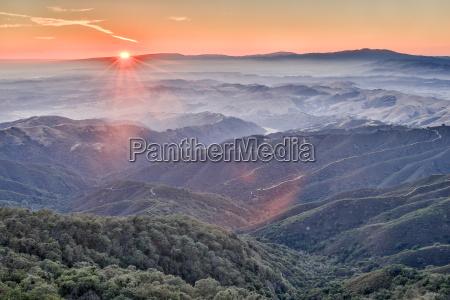 por do sol cupula afterglow california