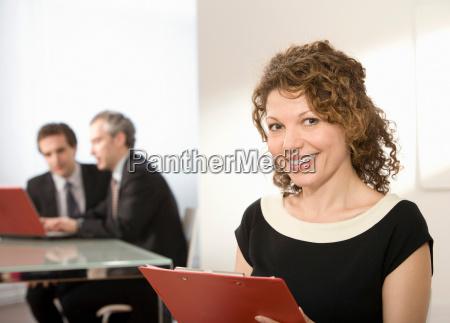 portrait of a latin businesswoman