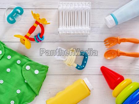 colecao de itens para bebes vista