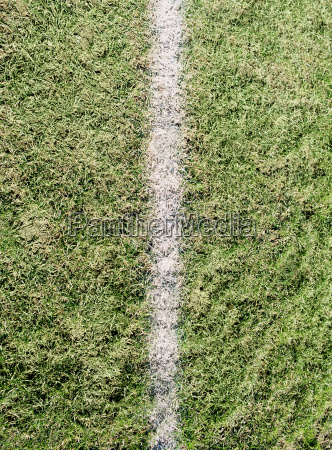 line on a playing field
