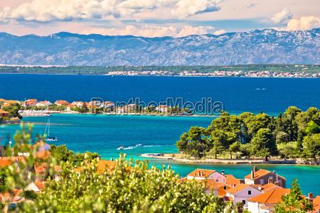 agua mediterranico agua salgada mar croacia