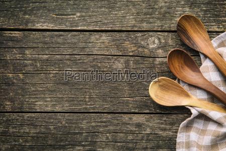 colheres de madeira handmade